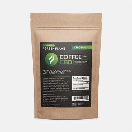Green Flame Hemp Coffee + CBD