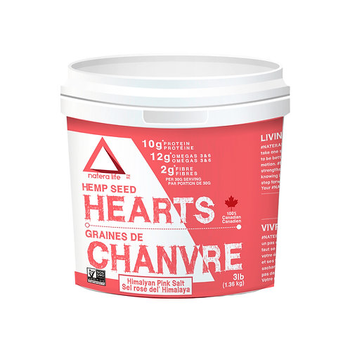 Natera Sport Hemp Seed Hearts, Himilayan Pink Salt