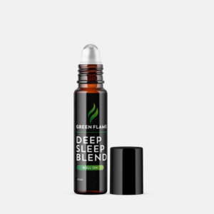 Green Flame Hemp Deep Sleep Blend Roll-On with Hemp Seed Oil