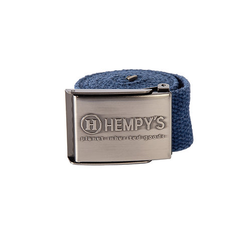 "Hemp Scout (1.5"") Belt, Blue"
