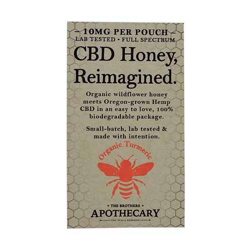 Orange Turmeric CBD Honey