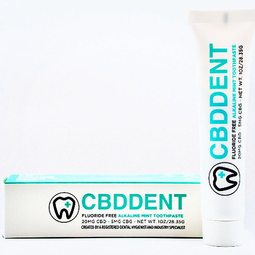 CBDDent Fluoride-Free Mint Toothpaste