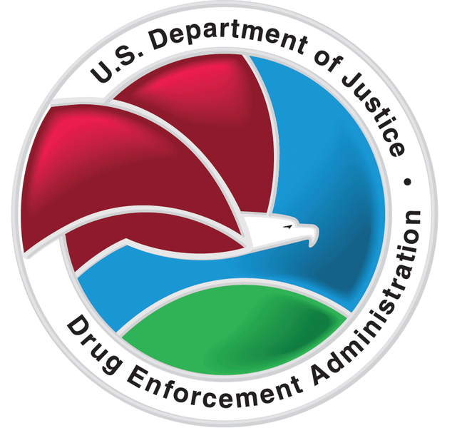 The logo of the DEA