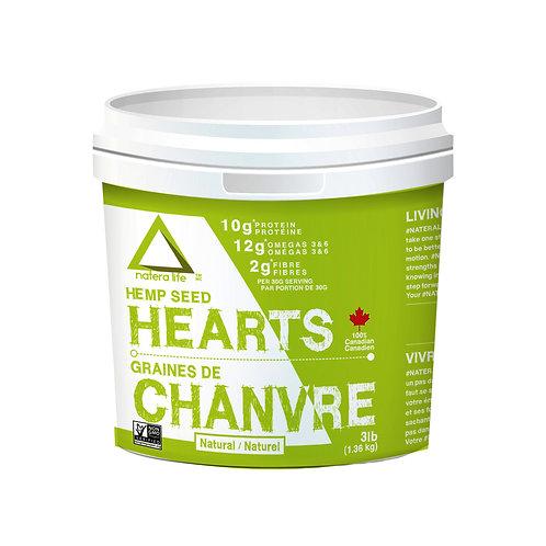 Natera Sport Hemp Seed Hearts, Natural