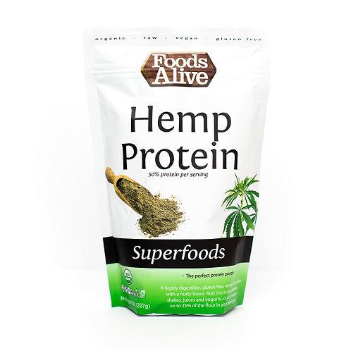 Hemp Protein Powder (50%) - Organic