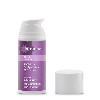 Palmetto Harmony Full Spectrum CBD Relief Lotion