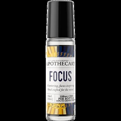 Focus (CBD + Essential Oil) Roller