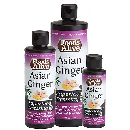 Asian Ginger Organic Superfood Dressing