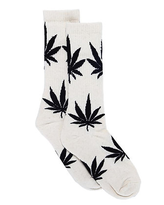 HempZoo Hemp Leaf Crew Socks