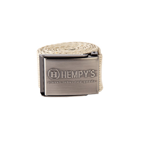 "Hemp Scout (1.5"") Belt, Natural"