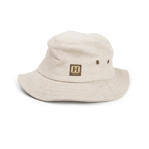 Hemp Dockside Lounger Sun Hat, Natural