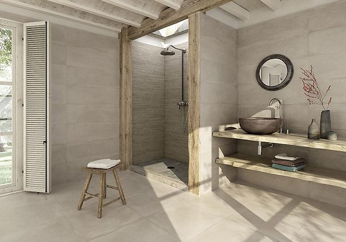 WABI SABI, Sol de salle de bain par Gran