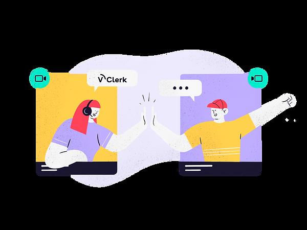 V-Clerk-customersatisfaction2-illustrati