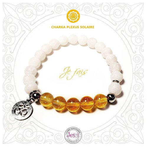 Bracelet Chakra Plexus Solaire