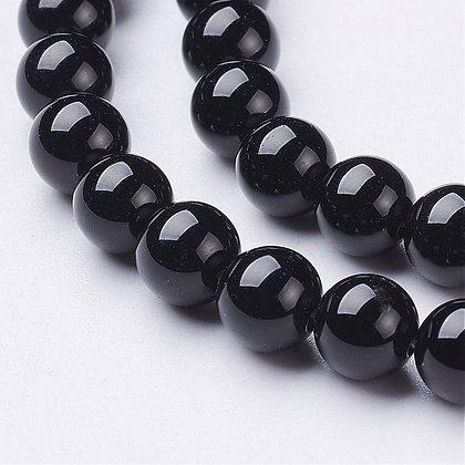 Agate Noire 6mm