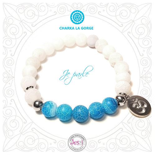 Bracelet Chakra de la Gorge