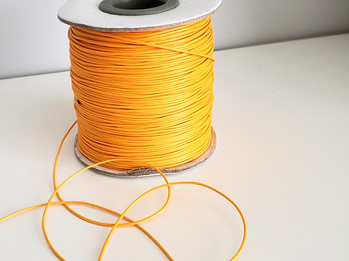 Fil polyester ciré Orange