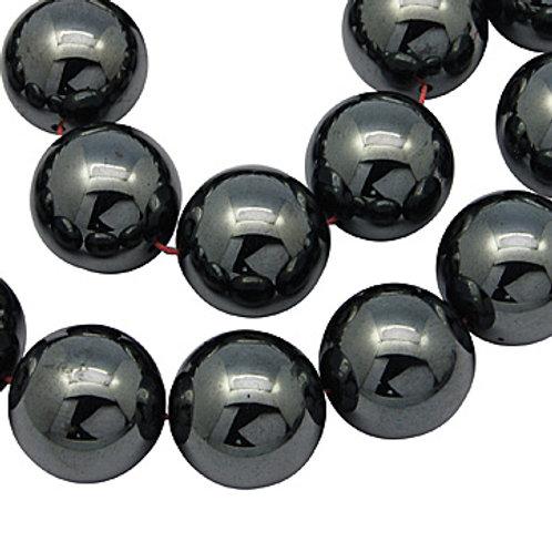 Hématite synthétique 6mm