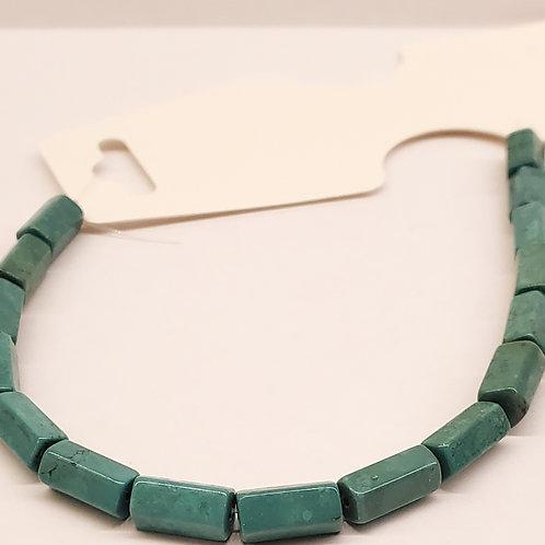 Turquoise reconstruite tube