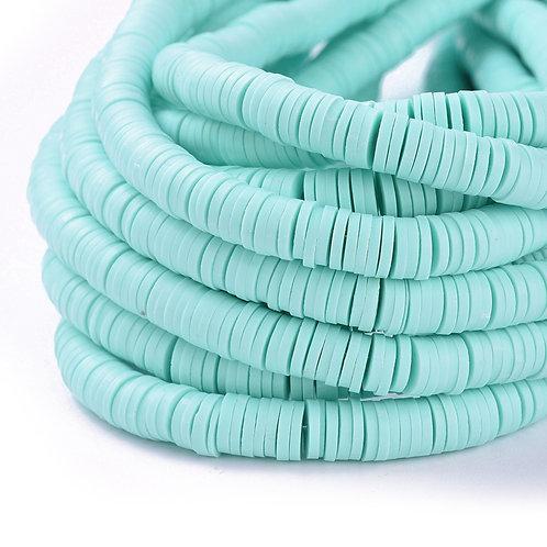 Perles Heishi - Aquamarine