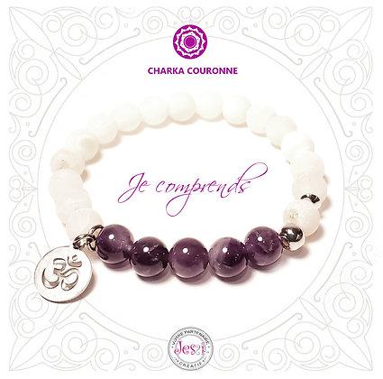 Bracelet Chakra de la couronne