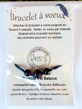 Bracelet à voeux - Protection & Balance