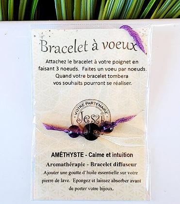 Bracelet à voeux - Concentration & Calme