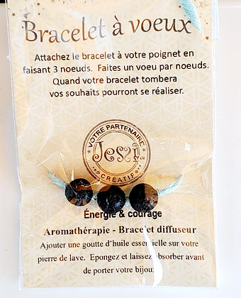 Bracelet à voeux _ Énergie & Courage