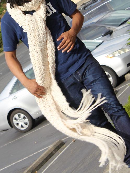 Handmade Open Colossal Yarn Scarf