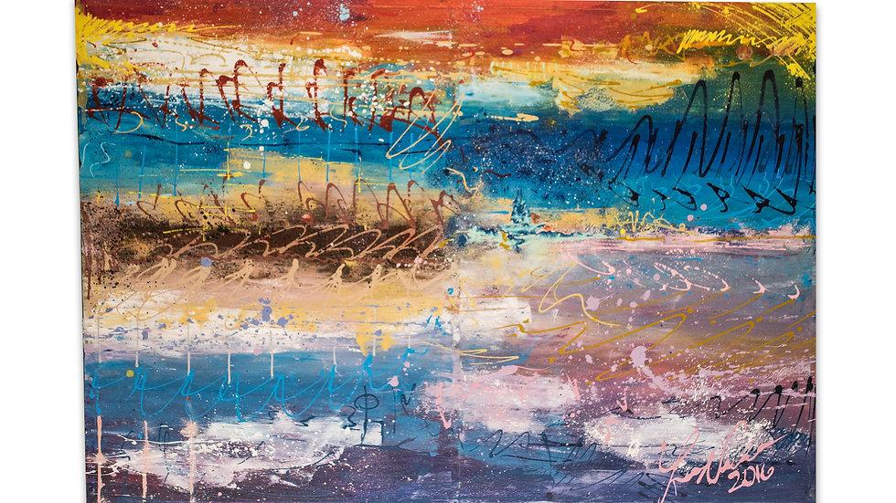 Sail Away | Luis Saldana | Acrylic on Canvas