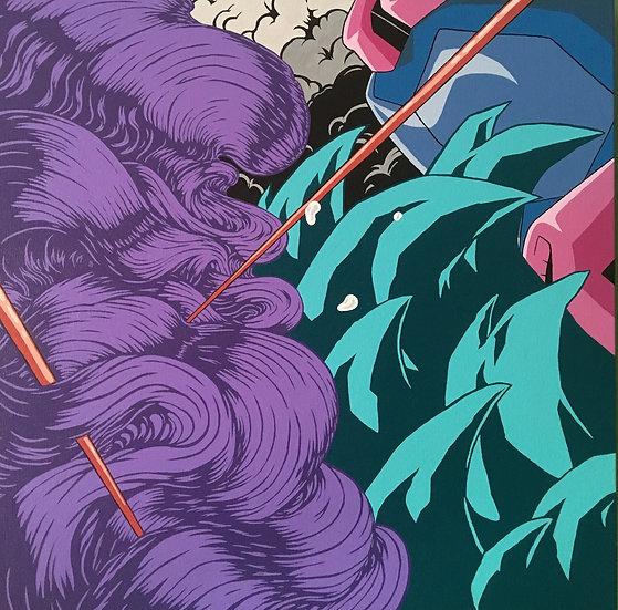 Somniloqui | Spencer Purinton | Acrylic on Canvas