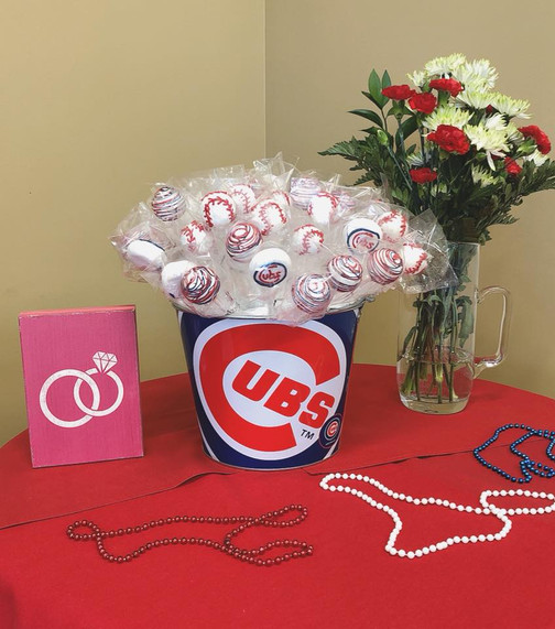 Chicago Cubs Themed Bridal Shower