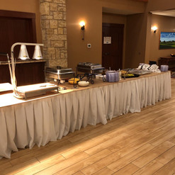 Lincoln Inn Catering Buffet Table