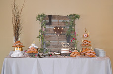Donut Display Table