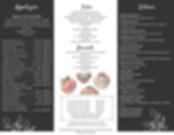 Faranda's Catering Trifold Brochure 2020