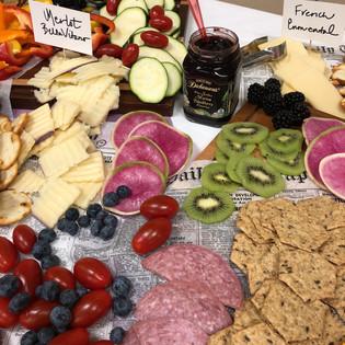 Gourmet Charcuterie & Cheese Board