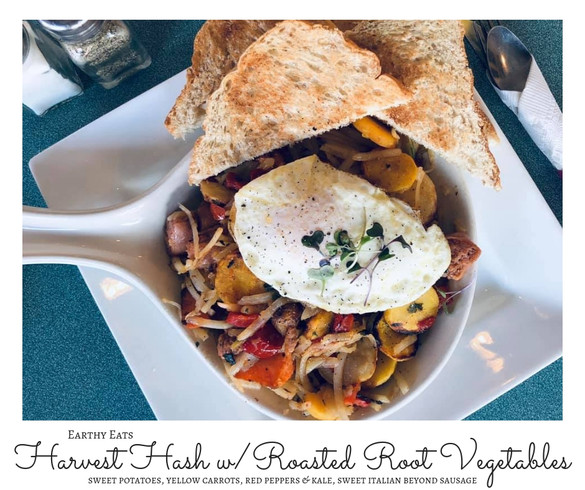 Fall Harvest Hash with Roasted Root Vege