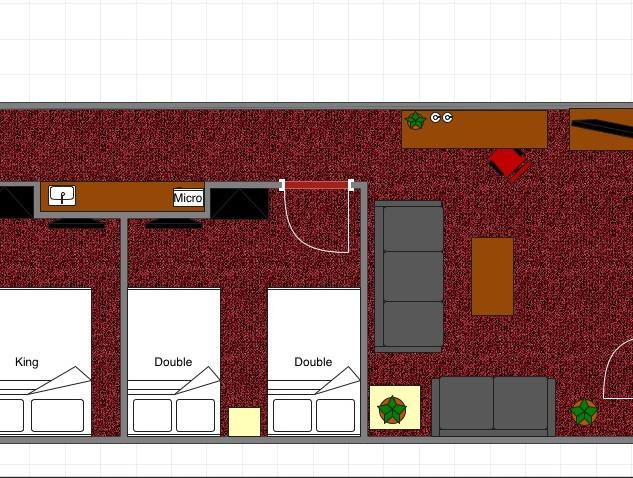 2 bedrooms Premium Suite