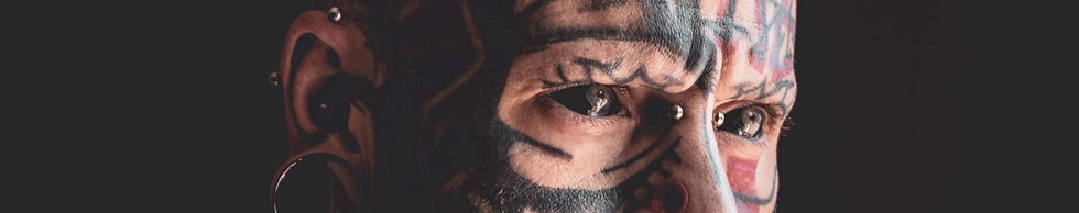 Karl Roy black eyeball tattoo canada ato