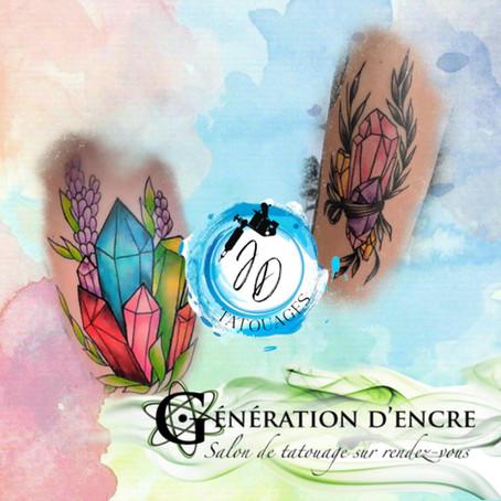 Jasmine Dusseault Tattoo Artist Atomik wAVE GENERATION D'ENCRE