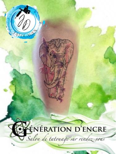 Jasmine tattoo Dusseault