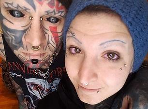 journal de Quebec eyeball tattoo Amy-lee