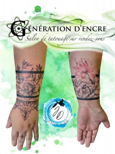 Jasmine Dusseault Tattoo Artiste Generation d'encre