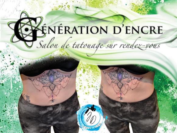 Jasmine Dusseault Tattoo Artist Génération d'Encre
