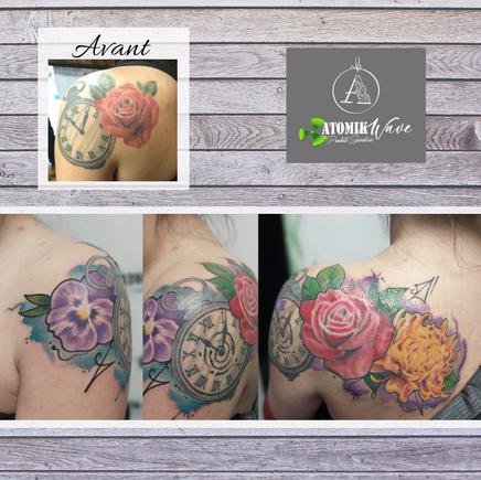 tatouage tattoo Generation d'encre Amy-Lee Gosselin