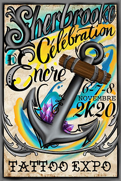 Sherbrooke Celebratin d'encre, tattoo expo, tattoo convention, ink show