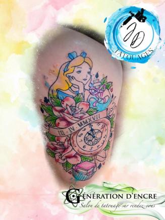 Jasmine Dusseault Tattoo artiste Sherbrooke Generation d'encre