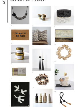 THE DESIGNER-CURATED GIFT GUIDE TO SHOPPING LOCAL THIS HOLIDAY