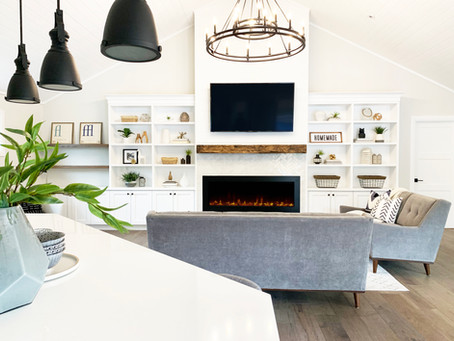 GREAT ROOM REVEAL:  PROJECT COX MILL