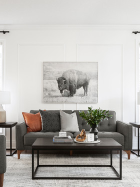 IT'S HERE! NEWMARKET HOME REVEAL, PART 3: DINING & LIVING ROOMS.